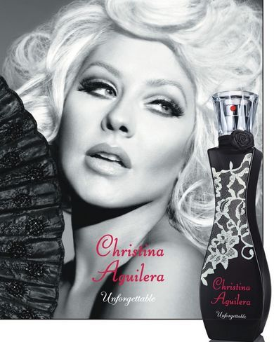 Christina Aguilera - New Fragrance Unforgettable 2013