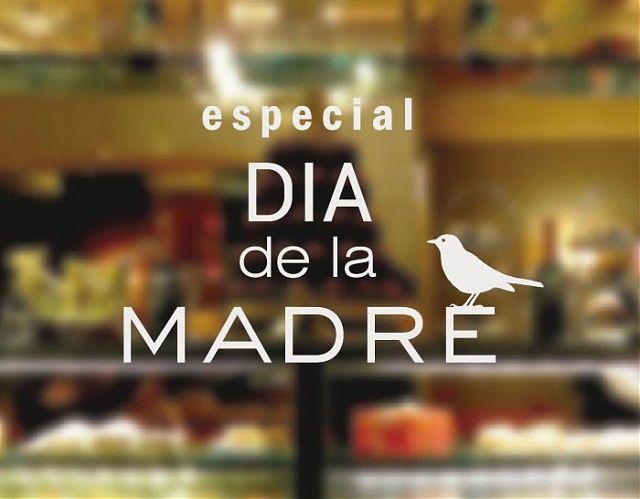 . Vinilos decoración escaparates y cristaleras tiendas y comercios Día de la Madre 04322