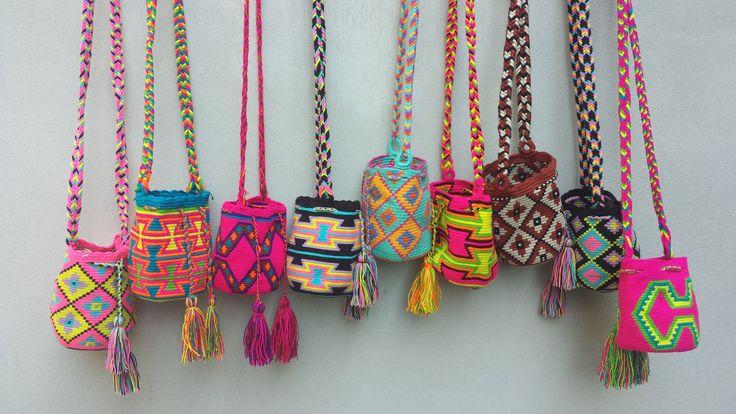 Mini Wayuu Bags - www.fashionistaz.nl/wayuu-mochila-tassen-fashionistaz/mini-mochila.html CUTE MINI WAYUU BAGS