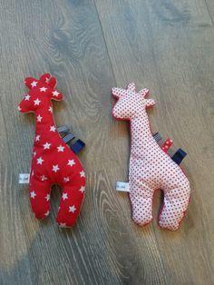Giraffe, baby, kado, snel gemaakt, restjes stof, naaien, naaimachine, zelfgemaakt, handmade