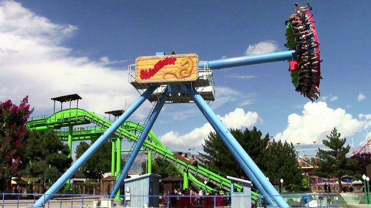 SideWinder off-ride HD Cliff's Amusement Park