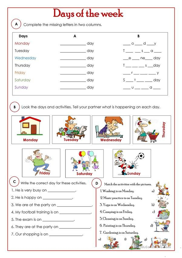 Free ESL, EFL Printable Worksheets And Handouts English For Beginners,  English Grammar Worksheets, English Lessons