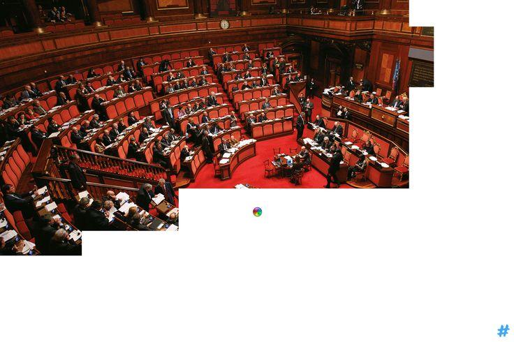 Il parlamento italiano. #italia #governo