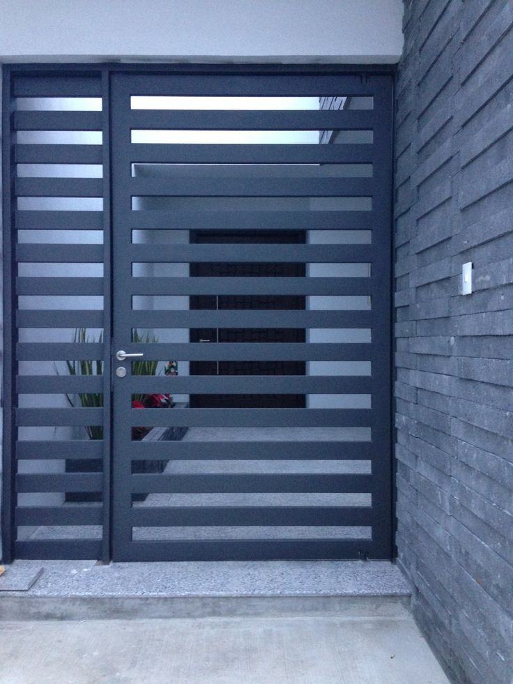 3736 best images about gorgeous gates doors windows on for Modern front gate design