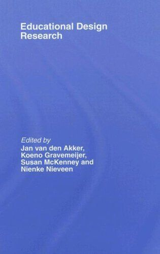 Educational Design Research by Nienke Nieveen. $10.33. 178 pages. Publisher: T  F Books UK; 1 edition (January 29, 2009)