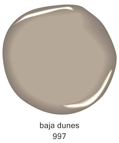 #BenjaminMoore Baja Dunes 997