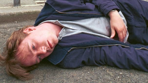 Just another day in the life of Albert Square's Ian Beale. Shot by wife Cindy