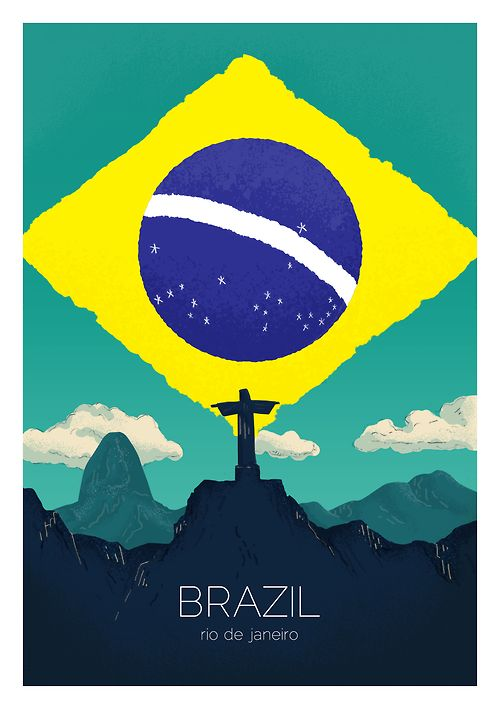 rio_de_janerio | brazil first in a series of illustrated cities.