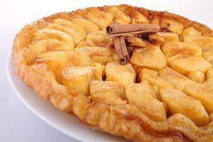 tarta de manzana en el microondas, qué gran descubrimiento | A vueltas con el microondas