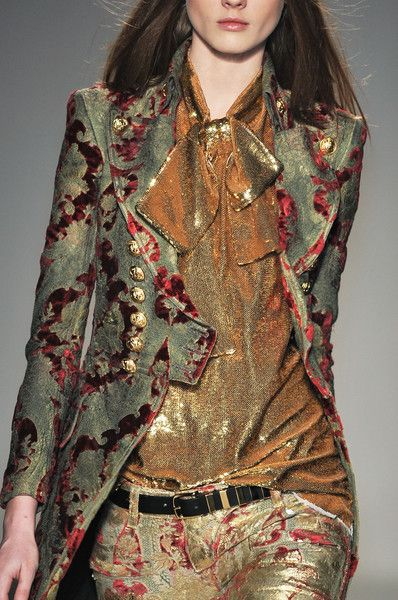 Balmain pirate coat