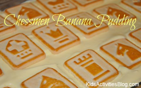 chessmen banana pudding