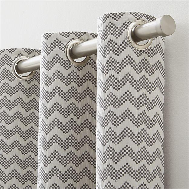 Best 25 Grey Chevron Curtains Ideas On Pinterest