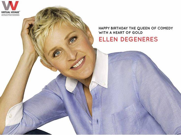 """""""Binge Watch Her Show & You will never be SAD! Happy Birthday Ellen"""""""