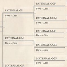 Family Tree Template Finder: Free Printable Charts for Genealogy
