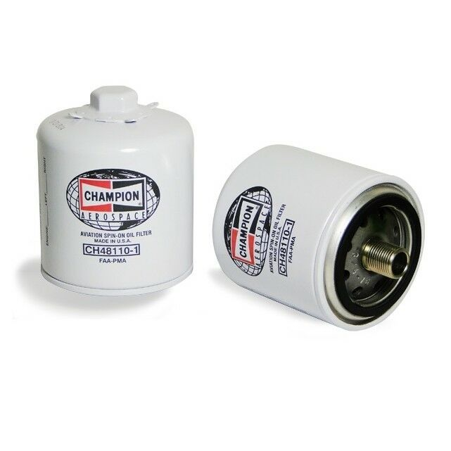 Champion Aerospace Spin On Oil Filter Ch48110 1 Oil Filter
