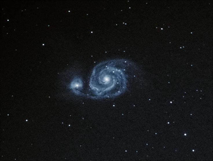 Whirlpool Galaxy! 150 Light Subs 15 sec ISO 8000 [4700 x 3550] http://ift.tt/2nOBMfh