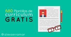 680 Plantillas para currículum gratis ¡Destaca!