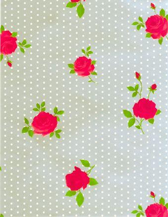 Tafelzeil+Dots+&+Roses+Zilver+-+Fleurig+tafelzeil+met+stippen+en+rozen+op+een+zilverkleurige+ondergrond.+Erg+vrolijk!+Het+tafelzeil+is+makkelijk+afneembaar,+dus+ook+ideaal+geschikt+voor+mensen+met+kinderen.+Het+tafelzeil+valt+soepel+om+je+tafel+en+is+140cm+breed.