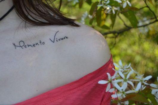 exemplo de frases para tatuagem em latim
