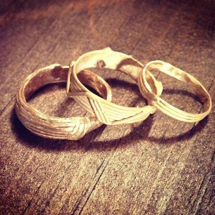 Bronze rings created by inner loop desing co for sale! Check inner loop design co out on facebook