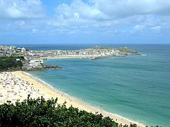 St. Ives  is a seaside town, civil parish and port in Cornwall, England, United Kingdom.