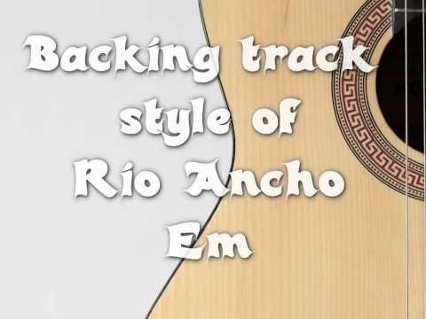 backing track style Rio ancho paco de lucia - YouTube