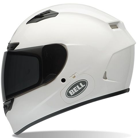 Bell Qualifier DLX Solid White Motorcycle Helmet - Motorcycles508