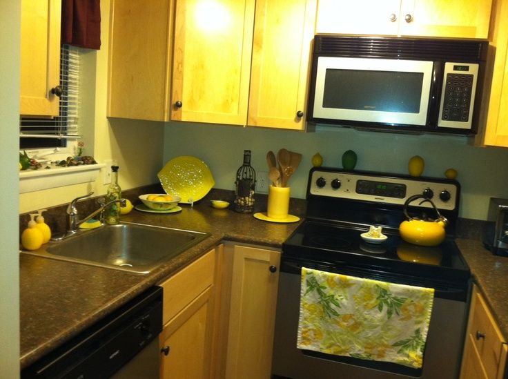 Attractive Lemon Kitchen Decor | My Lemon Themed Kitchen.