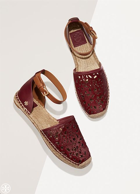 Tory Burch Clarisse Flat Espadrille Sandal