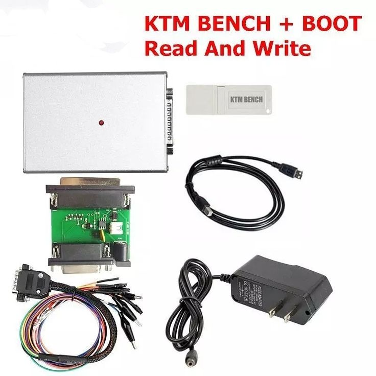 ECU Programmer KTM BENCH Read and Write ECU Via Boot Bench