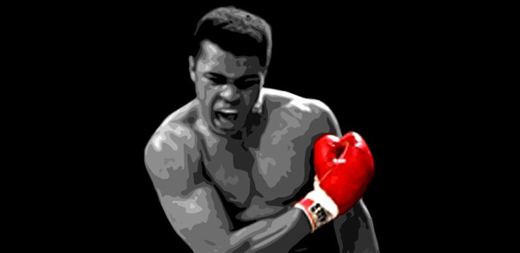 Black And White Muhammad Ali Art Images Google Search