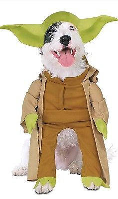 Rubies Star Wars Collection:  Yoda Dog Costume Sz Large with Plush Arms