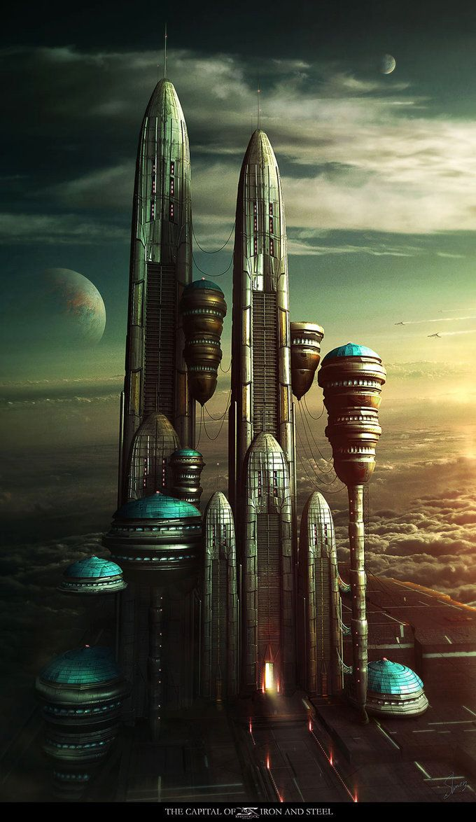 The Capital Of Iron and Steel by Shue13 on deviantART ...
