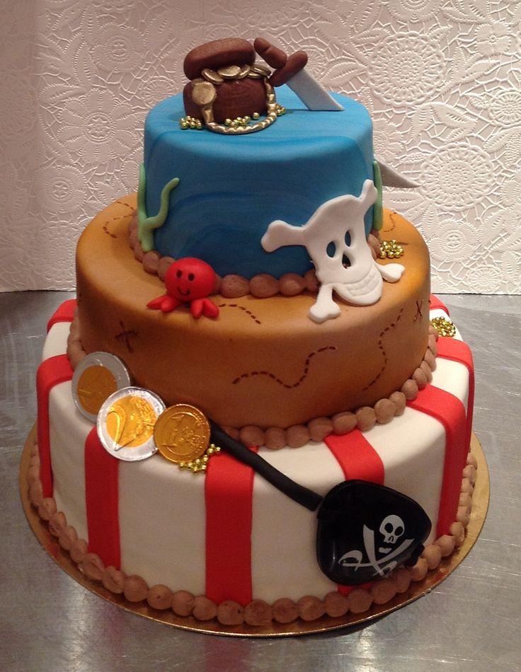 piraten verjaardagstaart - Google zoeken