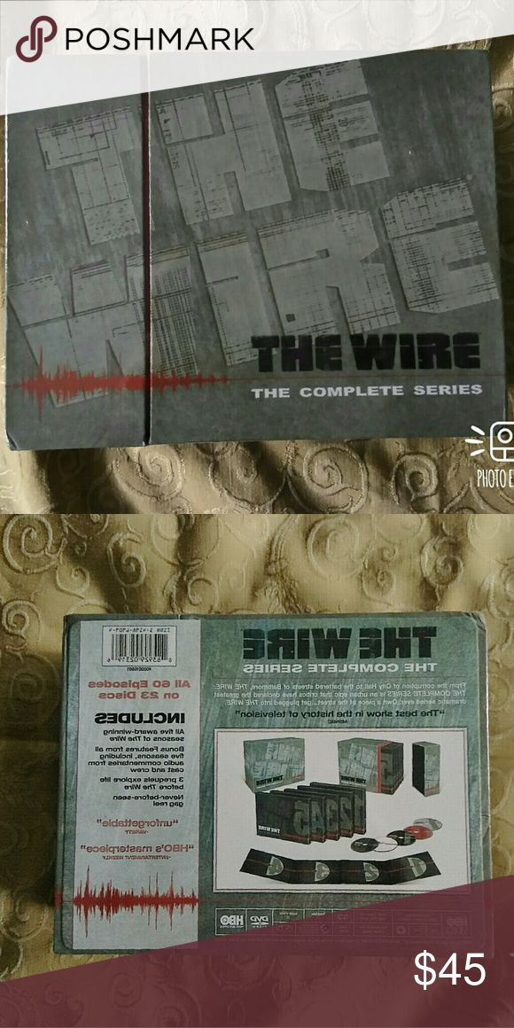 The Wire (Complete Series) The wire complete series brand new in the box,  All 60 episodes seasons 1-5  with bonus features. Hbo Other