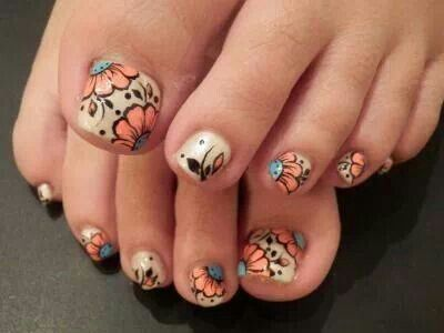 The 25 best flower toe nails ideas on pinterest flower toe image viatoenail designsimage viacool pretty toe nail art designs ideas for beginners age via pretty toe nail art d prinsesfo Gallery
