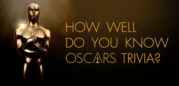 Does your knowledge of the red carpet deserve an award?