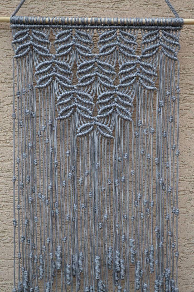 Maison en macramé décoratif mural B01MU9CDV9 par Mrcolmar sur Etsy