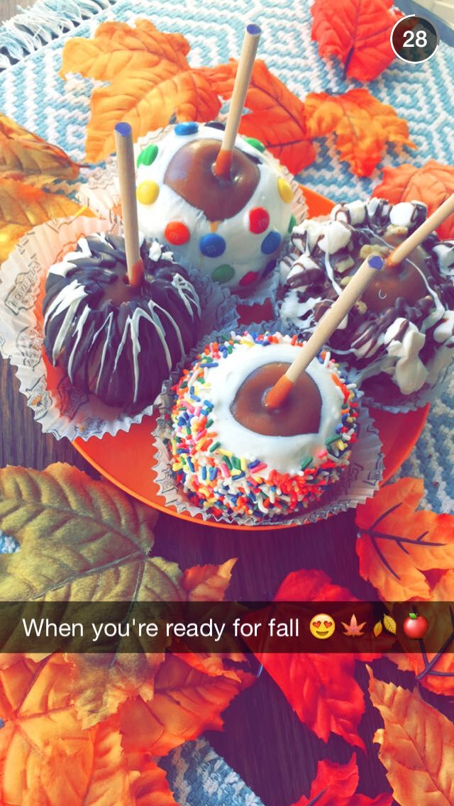 Fall are come..     Psst...I got this picture from snapchat Alisha Marie : Lidalu11