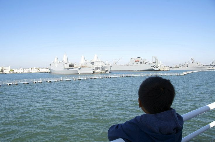 San Diego boat tour with kids