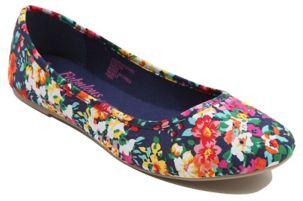 Floral Print Ballet Flats