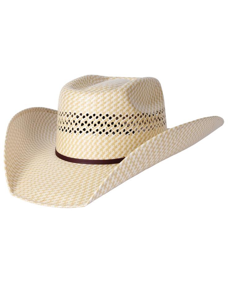 Rodeo King® 25X Vegas 2-Tone Straw Hat::Straw::Mens Cowboy Hats::Cowboy Hats::Fort Western Online