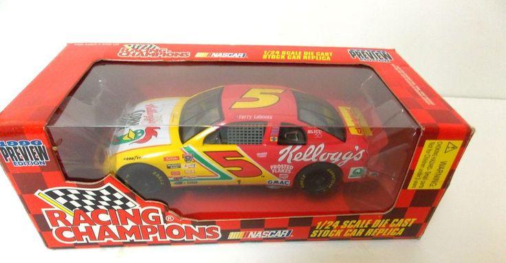 NASCAR RACING CHAMPIONS #5 TERRY LABONTE 1996 PREVIEW ED MONTE CARLO DIECAST CAR #RacingChampions #CHEVROLET