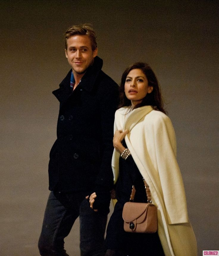 Ryan Gosling Spends Last Night in Paris with Eva Mendes (PHOTOS)