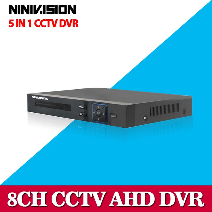 Hot 8CH AHD DVR 1080P 1080N AHD-N H CCTV Recorder Camera Onvif Network 8 Channel IP NVR 1080P 4CH Audio Input Multi-language