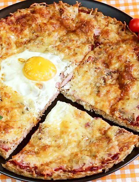 Low Carb Pizza von Esslust