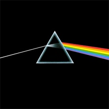 "Dark Side of the Moon - Pink Floyd (A classic, masterpiece of prog rock. Songs slip seamlessly into one another. Transitions and composition are brilliant. #1 on my 'desert island five."")"