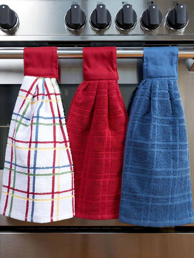 Elegant Our Hanging Kitchen Towels Have A Hook And Loop Fastener For Easy Storage.  This Cotton Dish Towel Set Is Made From 100 Percent Cotton.