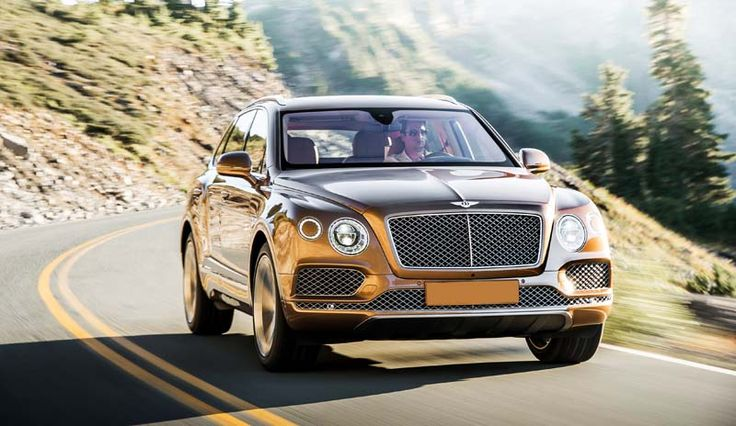 2017 Bentley Bentayga overview
