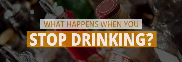 what happens to your body when you stop drinking alcohol